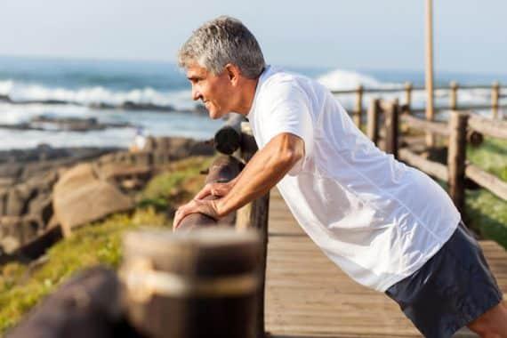 Des exercices physiques pour garder la forme
