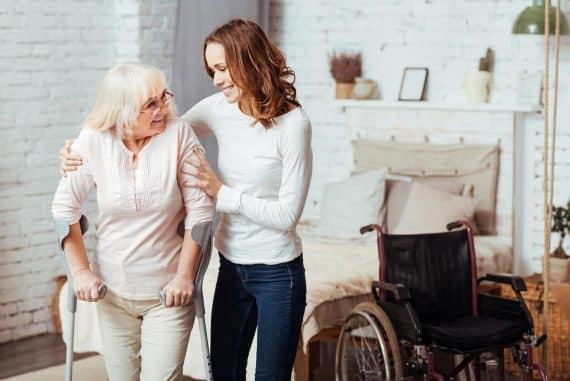 Une Infirmité croissante ne doit pas exclure un Senior