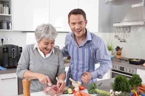 Manger mieux avec une petite retraite