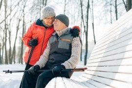activité personne âgée en hiver