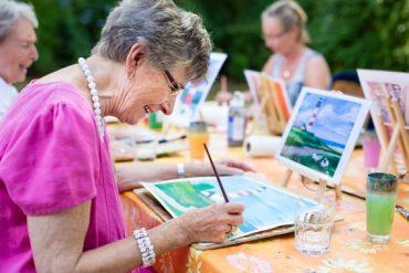 art-thérapie pour les personnes âgées