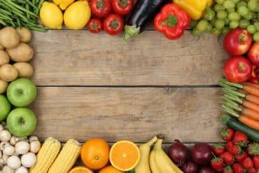 fruits et légumes de printemps pour le senior