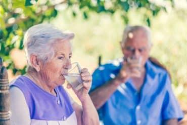été des seniors : hydratation