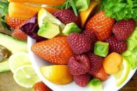 Fruits et légumes de l'été