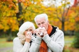 les personnes âgées face au froid