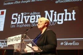 Pascale Boistard lors de la 9ème édition des Silver Night