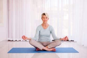 Méditation chez les seniors