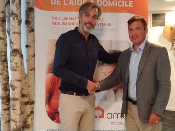 Aide à domicile Angers : Alain de La Brière ouvre une nouvelle agence Amelis