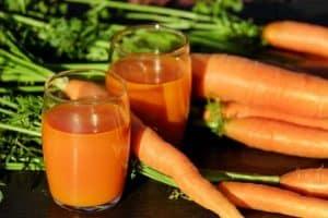 carottes et vitamines