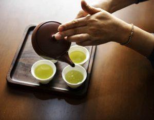Thé vert ou noir