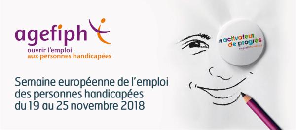 Agefiph semaine européenne de l'emploi