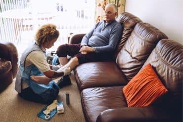 Soins à domicile après hospitalisation
