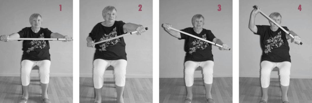 Exercice de gym douce pour seniors