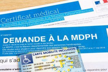 Plusieurs documents sont à fournir à la MDPH pour obtenir la Carte Mobilité Inclusion